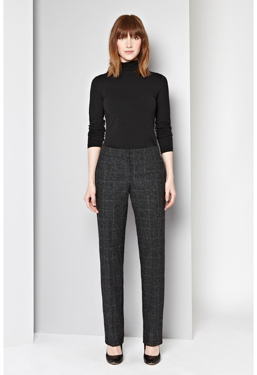 Tweedy Check Trousers
