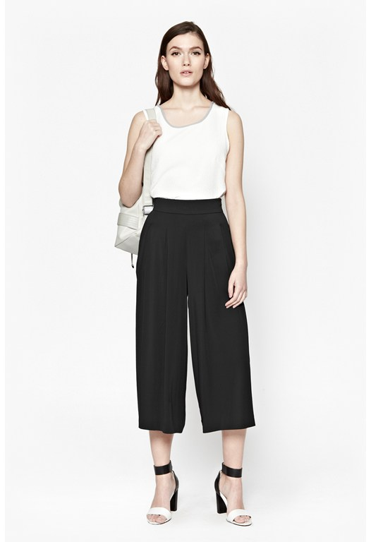 Night And Day Pleated Culottes