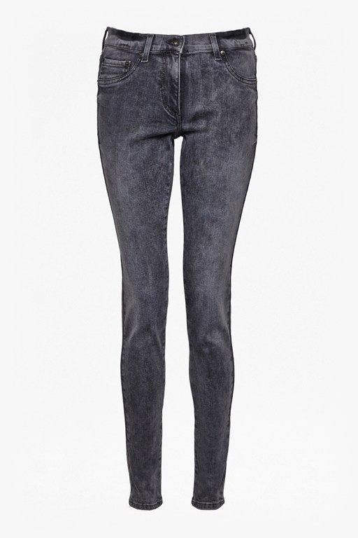 Complete the Look Ash Blast Skinny Jeans