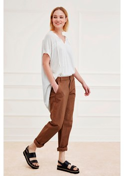 Safari Cotton Roll Up Trousers