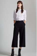 Looks Great With Ida Flannel Wide Leg Culottes