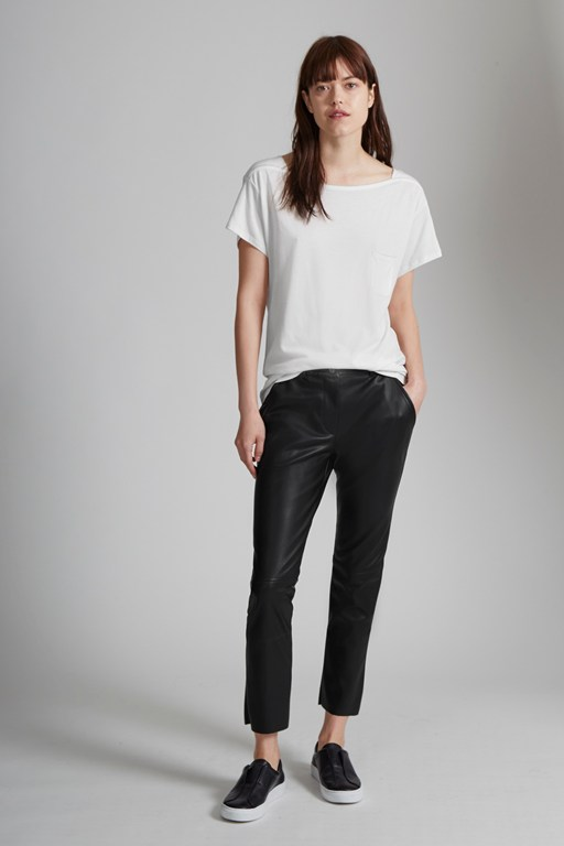 Seattle Faux Leather Trousers