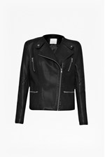 Looks Great With Brando Quilted Biker Jacket