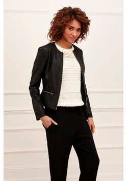 Layla Faux Leather Jacket