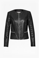 Looks Great With Layla Faux Leather Jacket