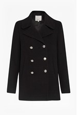 Looks Great With Chester Double Breast Pea Coat