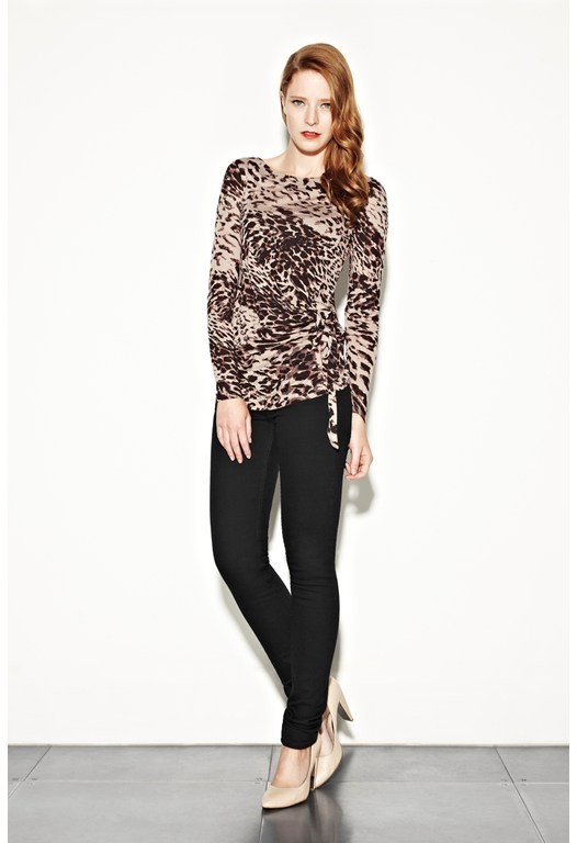 Animal Magic Side Tie Top
