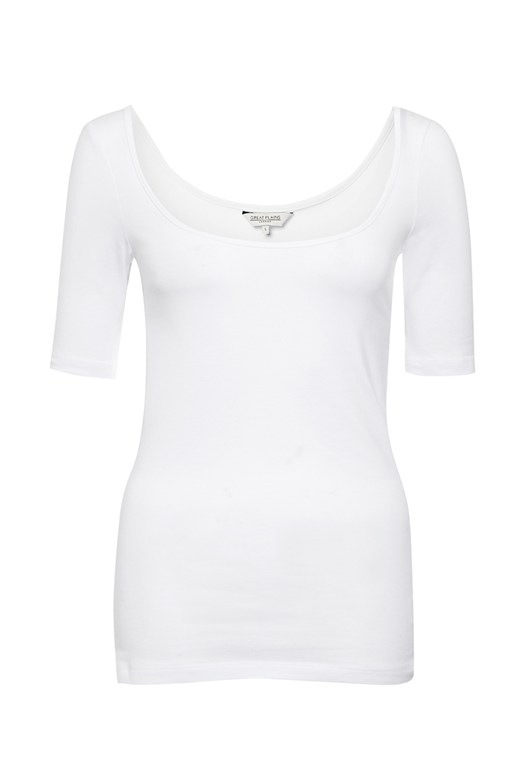 Primrose Stretch Scoop Neck Top