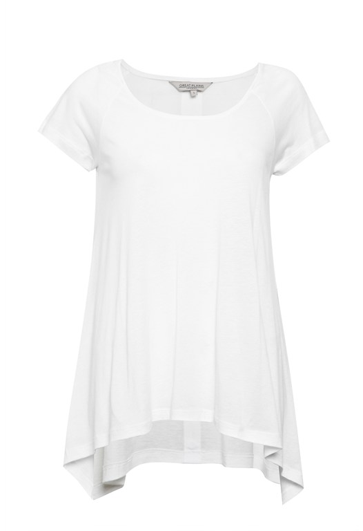 Featherweight Waterfall Tee
