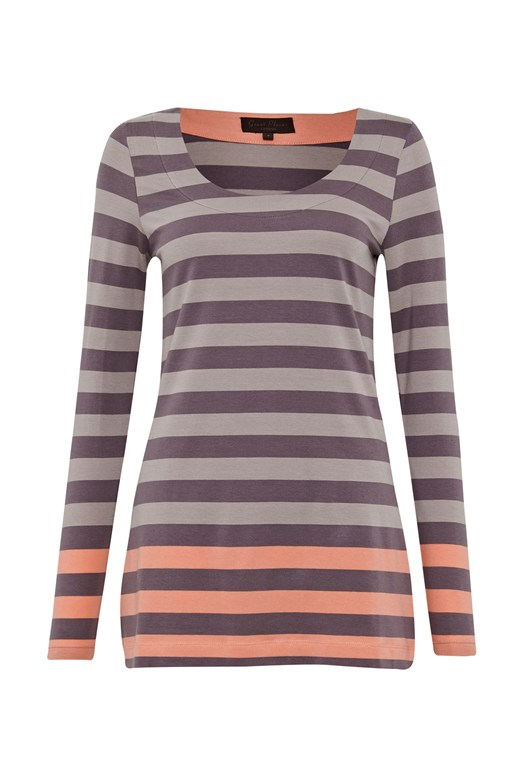 Cilla Stripe Top