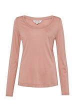 Looks Great With Featherweight Jersey Scoop Neck Top