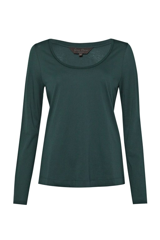 Complete the Look Featherweight Jersey Scoop Neck Top