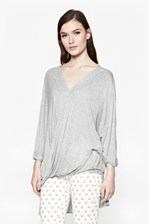 Looks Great With Lucinda Jersey Drape Top
