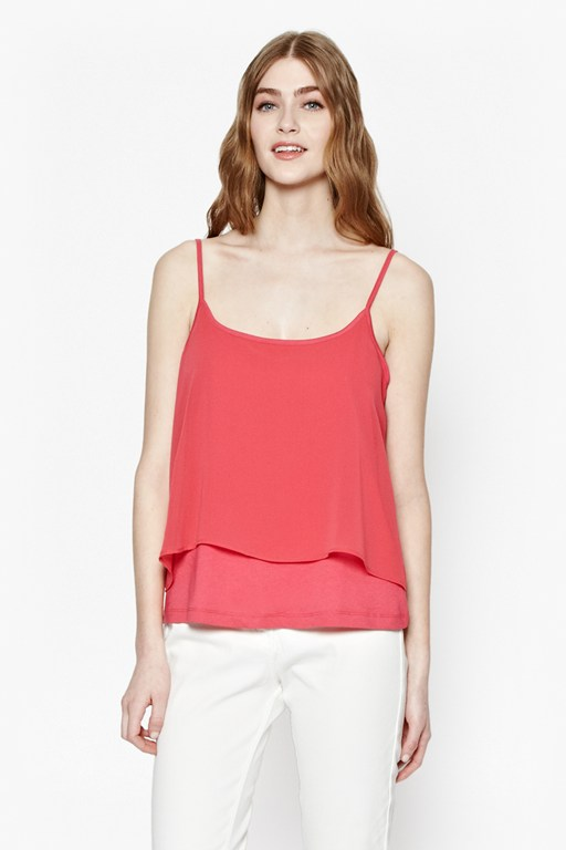 Complete the Look Featherweight Layered Cami