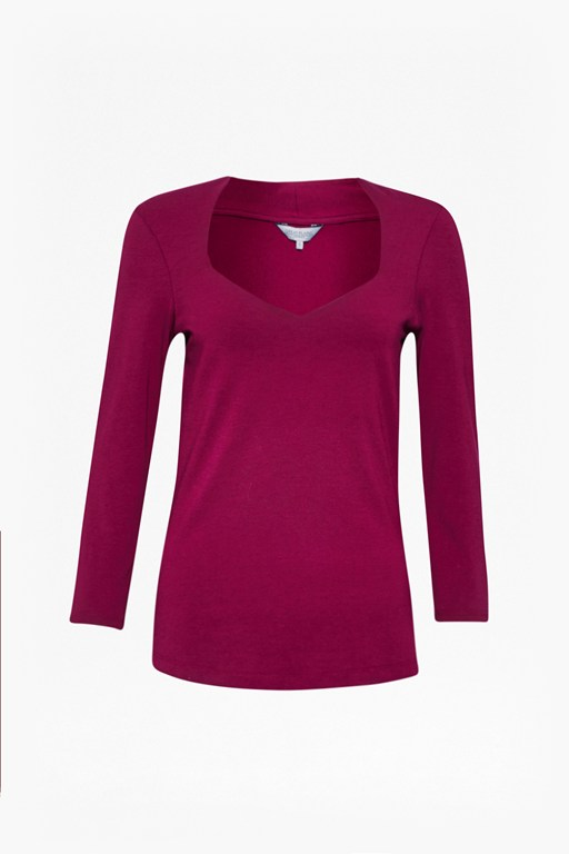 Complete the Look Primrose Sweetheart Cotton Top