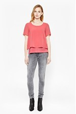 Looks Great With Featherweight Cotton Layered T-Shirt