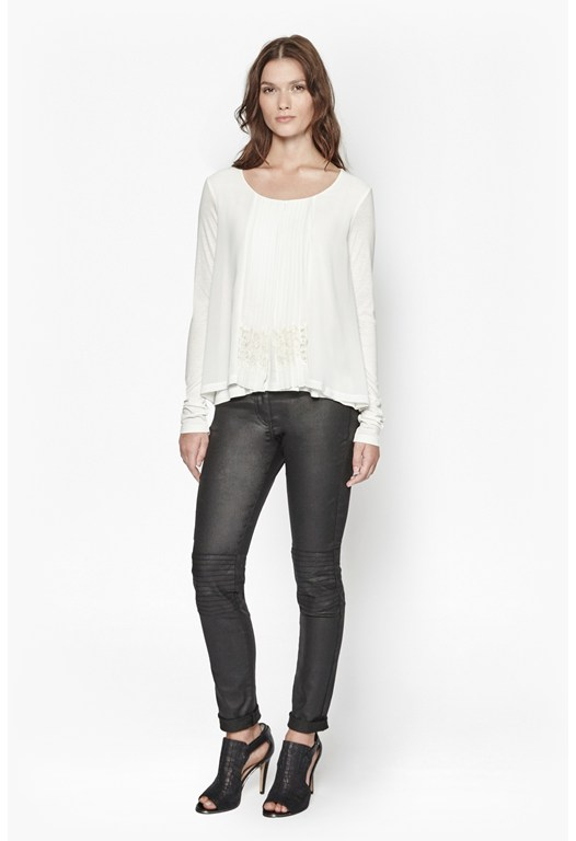 Marionette Chiffon Lace Top