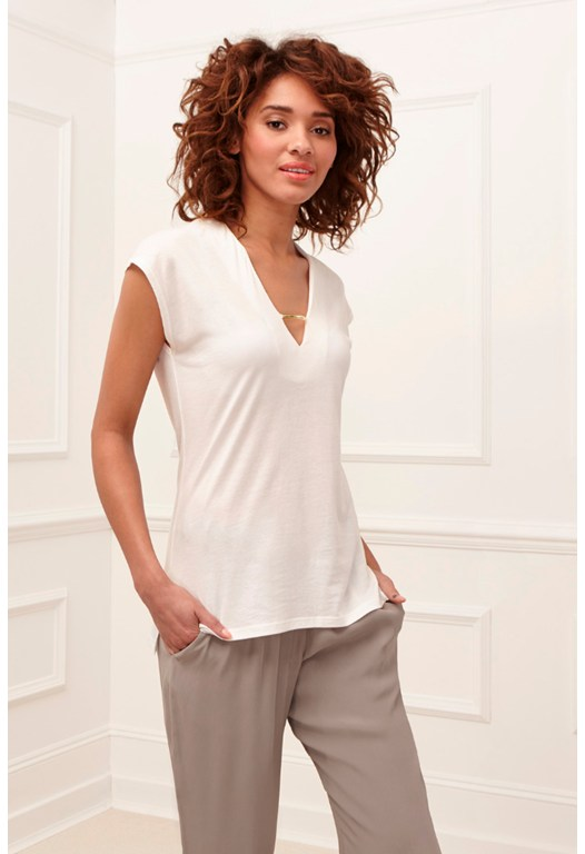 Featherweight Jersey V-Neck T-Shirt