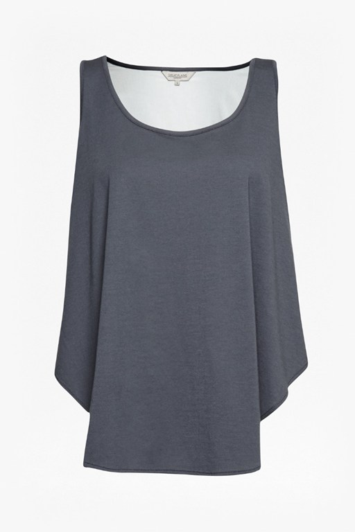 Complete the Look Featherweight Jersey Vest Top