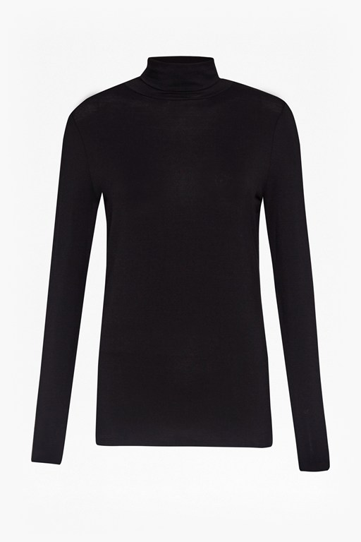 Complete the Look Sudbury Stretch Polo Neck Top
