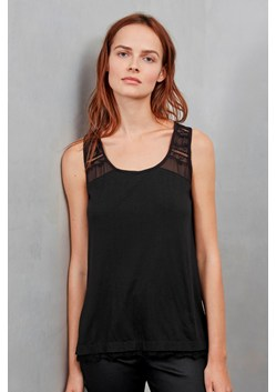 Featherweight Jersey Lace Vest Top