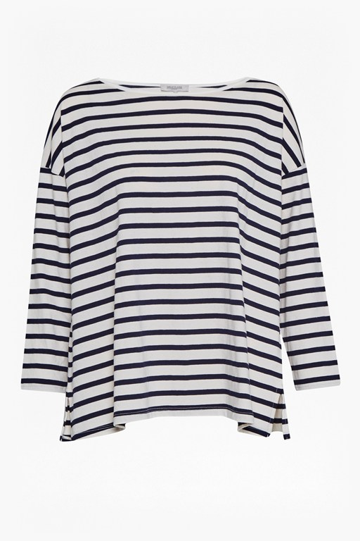 Complete the Look Take It Easy Oversized Stripe T-Shirt