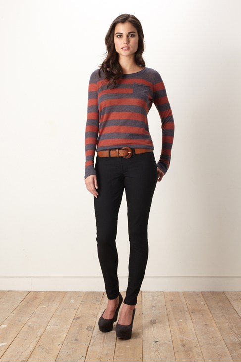 Penelope Stripe Pocket Knit Jumper