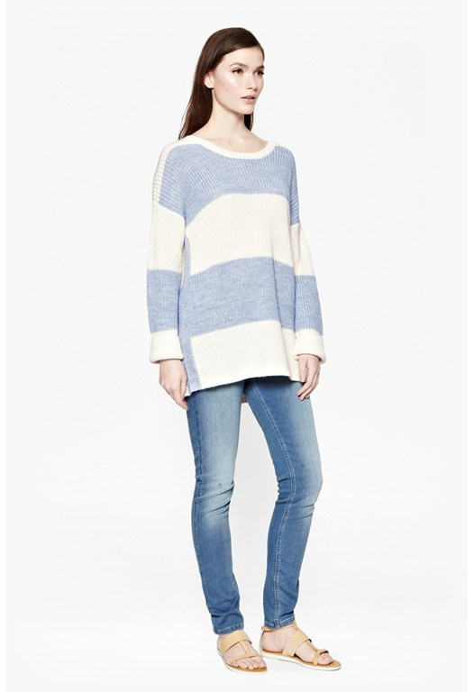 Kirsty Colour Block Jumper