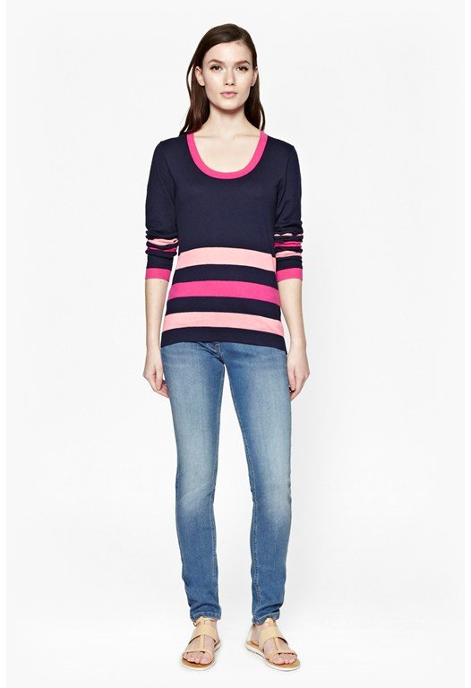 Lounge Knits Striped Jumper