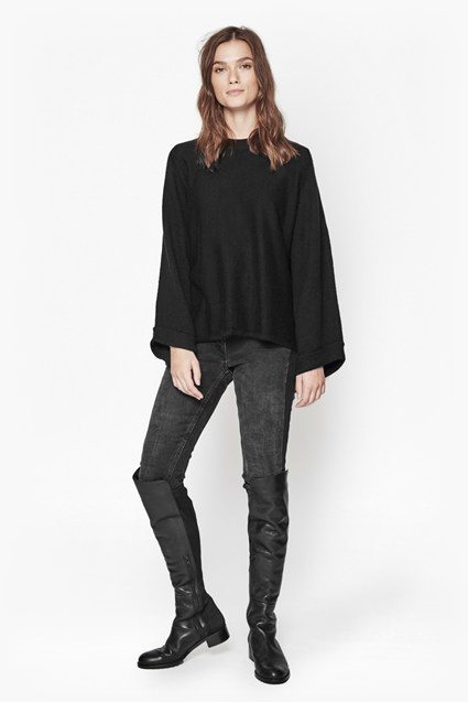 Heavenly Knits Loose Sleeve Top