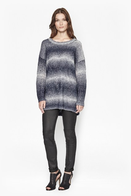 Angela ZigZag Oversized Jumper