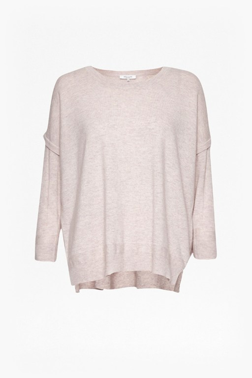 Complete the Look Rania Cashmere and Wool Blend Jumper