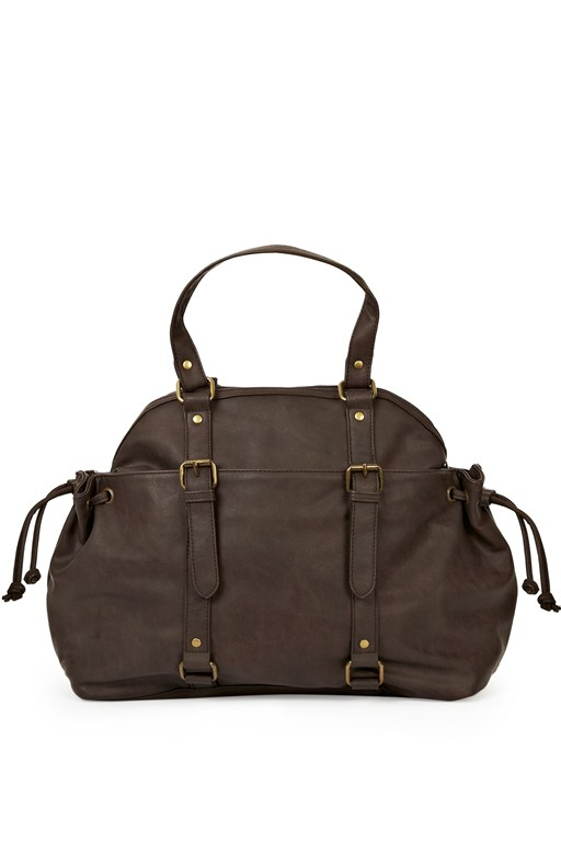 Slouchy Mo Buckled Bag