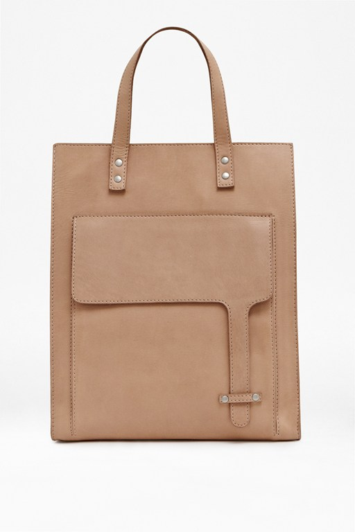 Complete the Look Kensington Leather Tote Bag