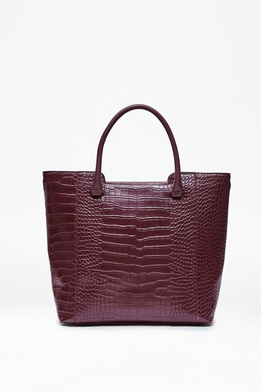Callie Croc Shopper