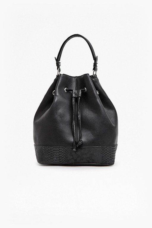 Complete the Look Viper Faux Leather Bucket Bag