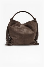 Looks Great With Tamara Tasselled Faux Suede Bag