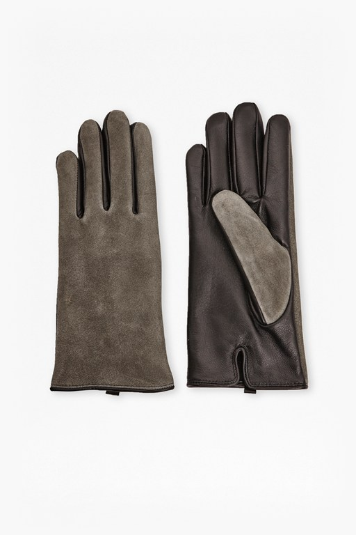 Claudette Leather Mix Gloves