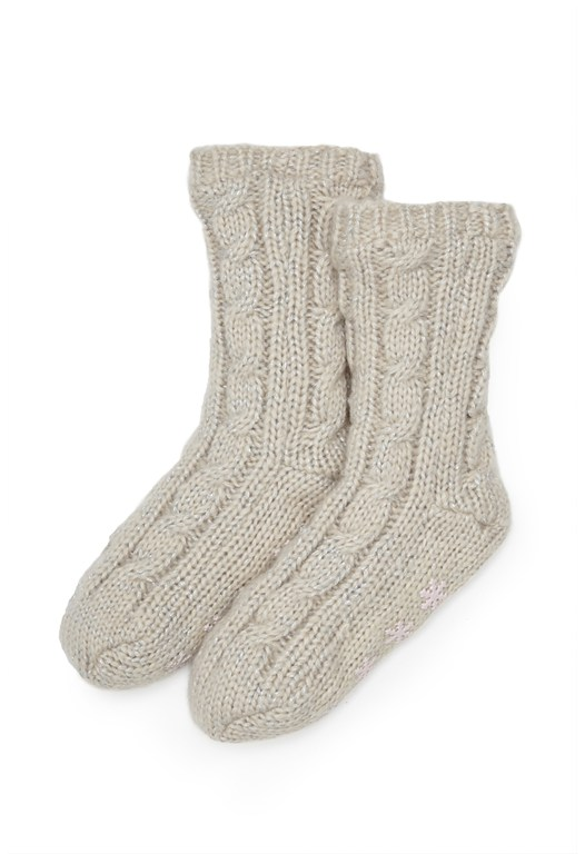 Glitzy Knitted Socks