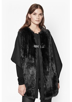 Claridges Faux Fur Cape