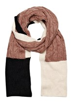 Looks Great With Joani Knitted Scarf