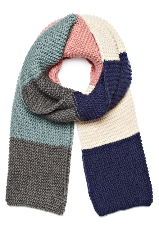 Complete the Look Potter Striped Scarf