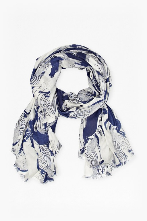 Complete the Look Carousel Scarf