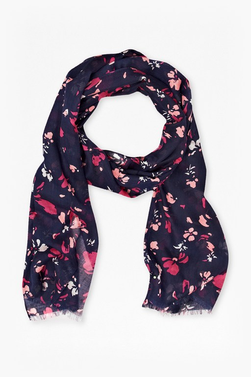 Complete the Look Spring Blossom Scarf