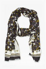 Looks Great With Window Box Printed Scarf