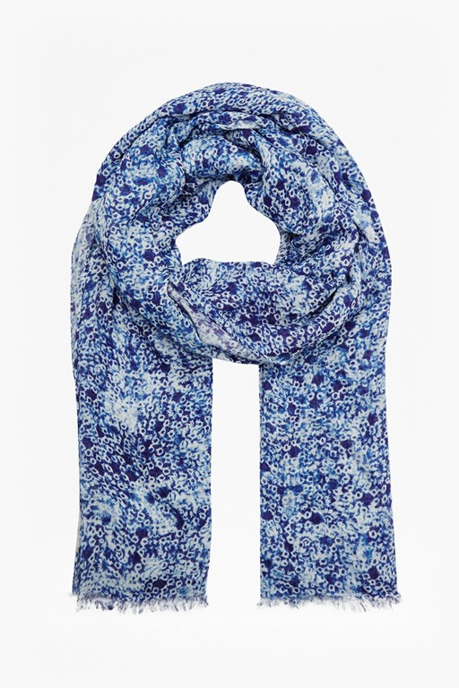 Complete the Look Dandelion Daydream Floral Scarf