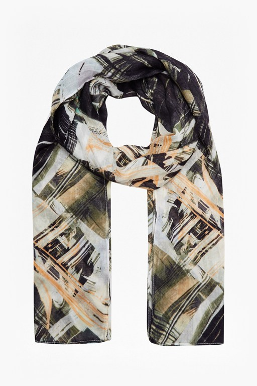 Complete the Look Pastel Paint Party Scarf