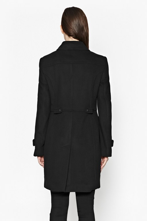Complete the Look Carla Zip Detail Coat