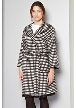 Chequers Belted Coat