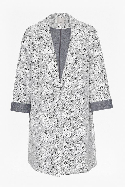 Complete the Look Trellis Jacquard Coat